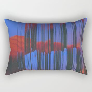 Sunset Melodic Rectangular Pillow by DuckyB