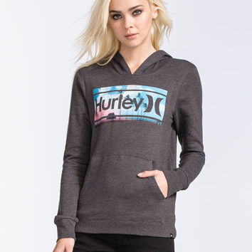 Hurley Shore Drive Womens Hoodie Black  In Sizes