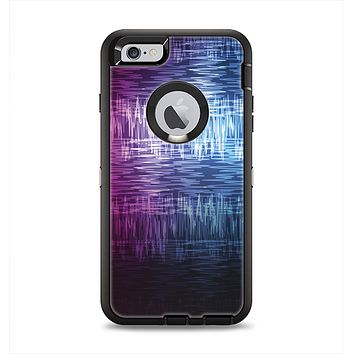 The Vibrant Colored Lined Surface Apple iPhone 6 Plus Otterbox Defender Case Skin Set