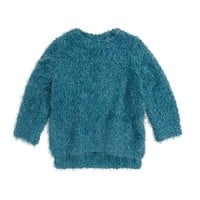 Pumpkin Patch Fluffy Sweater (Toddler Girls) | Nordstrom