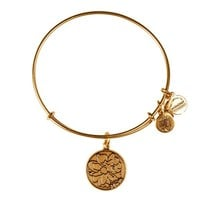 Alex and Ani Mom Charm Bangle - Russian Gold