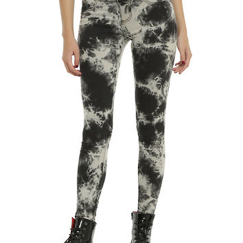 Blackheart Marble Wash Super Skinny Jeans