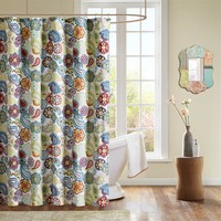 Mi Zone Tamil Shower Curtain|Designer Living