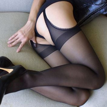Sexy Black Elasticity Stockings