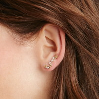 Rhinestone Star Ear Pin