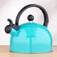 Enamel Tea Kettle, Aqua | Tea Time | World Market