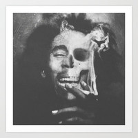Dead Marley Art Print by Troy Spino