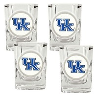 Kentucky Wildcats 4-pc. Shot Glass Set