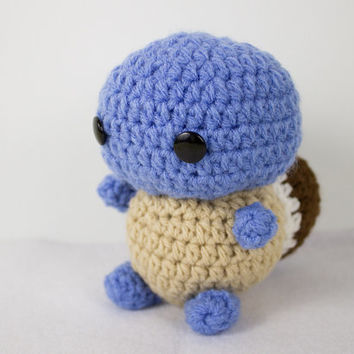 Crochet Pokemon Inspired Squirtle Amigurumi