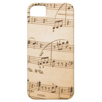 Music Notes iPhone 5 Covers