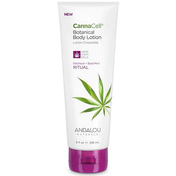 Andalou Naturals Body Lotion, Cannacell, Ritual - 8 Fz