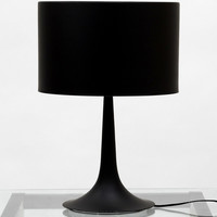 Silk Table Lamp Black