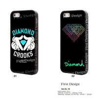 DIAMOND CROOKS iPhone 5S case, iPhone 5 case iPhone 5C Case  iPhone 4S Case, Samsung S3 S4 S5, Note 2 Note 3 - 26