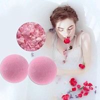 1pc10g Bath Salt Ball Body Skin Whiten Relax Stress Relief Bubble Shower Bombs Spa Shower Ball Skin Care props for