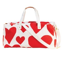 The Getaway Dufflel Bag - Extreme Super Cute Hearts