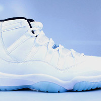 Air Jordan Men's Retro 11 XI Legend Blue