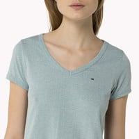 Cotton Blend T-shirt | Blue | Tommy Hilfiger® | 8719111040691