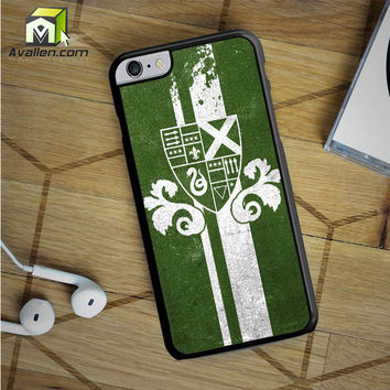 Slytherin iPhone 6S Plus case by Avallen