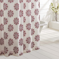 Mariposa Fuschia Shower Curtain