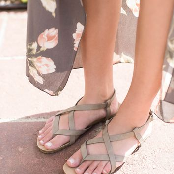 Twisty Flats, Taupe