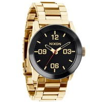 Nixon The Private SS Watch - Mens Watches - All Gold/ Black - One