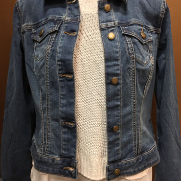 TRIBAL Retroblue Denim Jacket