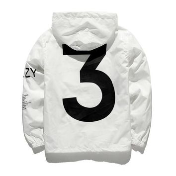 Trendy white men jacket windbreaker AT_94_13
