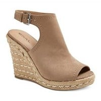 Women's Mala Shield Espadrille Wedge Sandals - Merona™