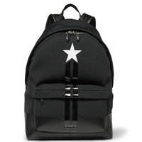Givenchy - Stripe-Trimmed Neoprene Backpack | MR PORTER