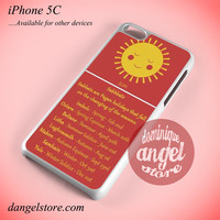 Witch Sun Phone case for iPhone 5C and another iPhone devices