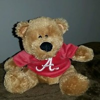 Stuffed Brown Teddy Bear BAMA Fan Gift