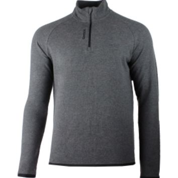 Reebok Men's Long Sleeve Quarter Zip Shirt