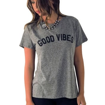 Good Vibes Only Tee | MACA Boutique