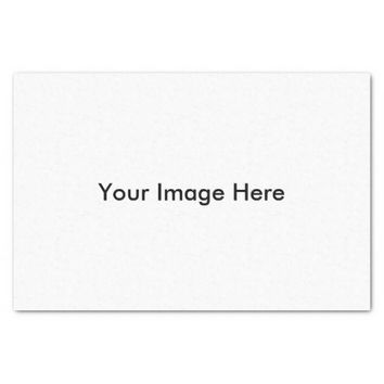 """Create Your Own Custom Photo 10"""" X 15"""" Tissue Paper"""