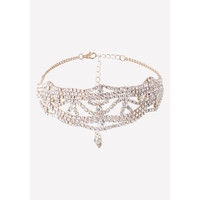 ORNATE CRYSTAL CHOKER