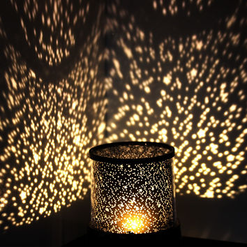 Colorful LED gypsophila masters night light beautiful starry sky projector novelty gifts