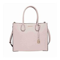 MICHAEL Michael Kors Women's Mercer Large Leather Tote Bag Pink  mk