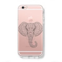 Ethnic Elephant iPhone 6 Case, iPhone 6s Plus Case, Galaxy S6 Edge Case C044