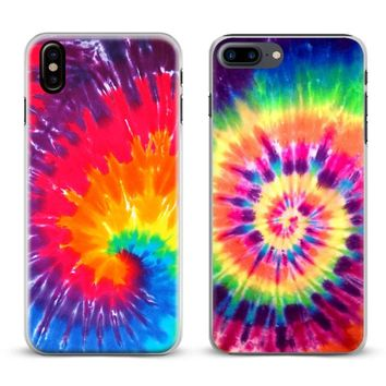 Tie dye Hippie Art Rainbow Hipster Phone Case Cover Shell For Ap.  Compatible iPhone Model  iPhone 6s ... 34198f84a