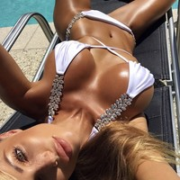 The Tiger Mist Jeweled Bikini Crush