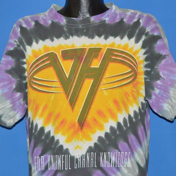 90s Van Halen For Unlawful Carnal Knowledge t-shirt Large