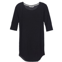 Elbow-sleeve Waffle Tunic - Victoria's Secret