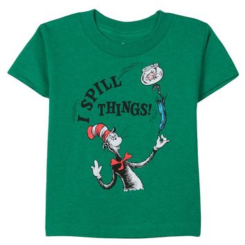 Dr. Seuss The Cat in the Hat ''I Spill Things'' Tee - Boys 4-7