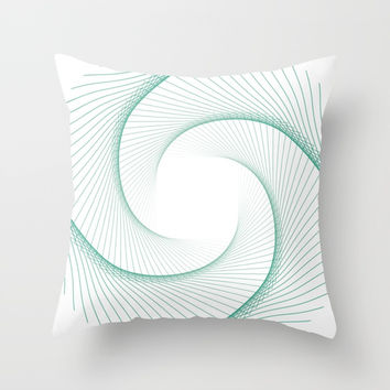 Vortex Throw Pillow by g-man