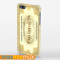 Harry Potter Ticket iPhone 4/4S, 5/5S, 5C Series Full Wrap Case