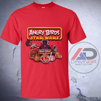 Star Wars Angry Birds , Star Wars Angry Birds shield  tshirt, Star Wars Angry Birds shirt, Tshirt youth, kids tshirt, and Adult Tshirt