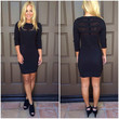 Into The Night Dress In Black