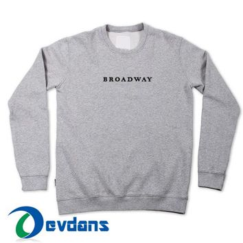 Broadway Font T Shirt Women And Men Size S To 3XL | Broadway Font T Shirt