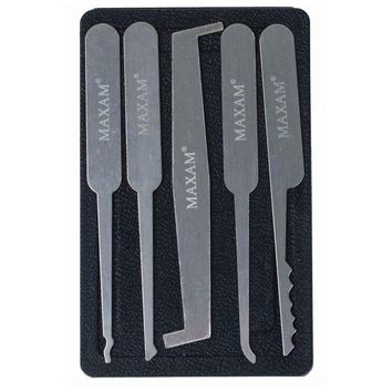 5pc Lock Pick Set with Case