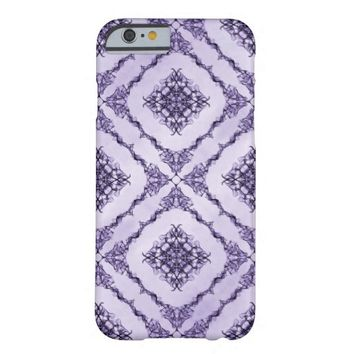 Ethereal Purple and Lavender Fractal Design Barely There iPhone 6 Case